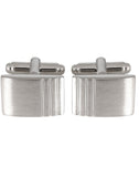 Striking Crystal - Cufflinks and Tie Pin Set