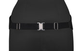 Debonair Black Cummerbund and Bow Tie Set