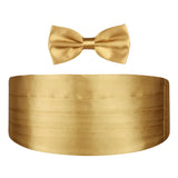 A Golden Rendezvous - Cummerbund and Bow Tie Set