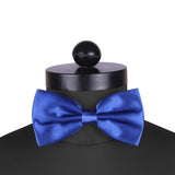 Bold Blue - Cummerbund and Bow Tie Set