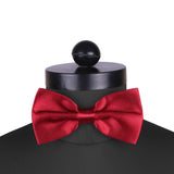 Maroon Affair - Cummerbund and Bow Tie Set
