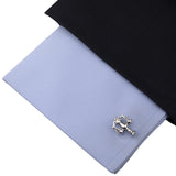 The Balancer  Cufflink and lapel Pin Set