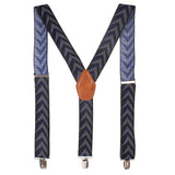 Arrow Hedge Black Coloured Suspender For Men