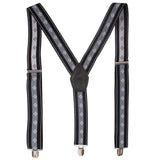 Flawless Black Coloured Suspender For Men