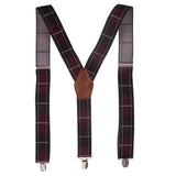 Alluring Maze Brown Coloured Suspender For Men