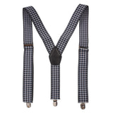 The fancy Edge Black Coloured Suspender For Men