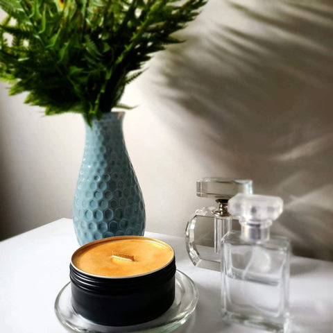 BAM Candle: Soy Wax + Wood Wick