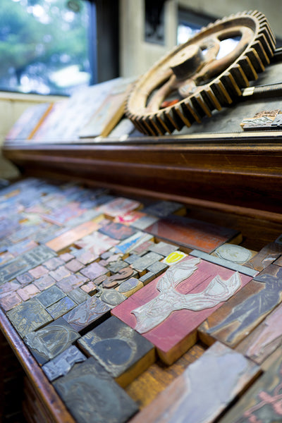 Porchlight Press Letterpress Workshops