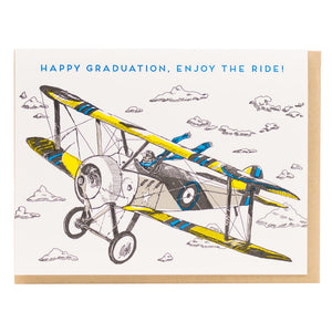 Card: Happy Graduation Sparrow