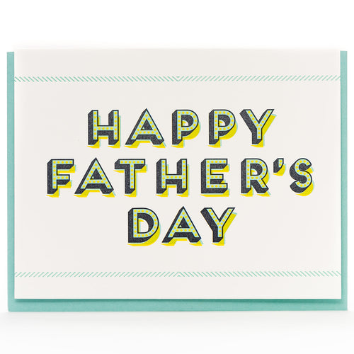 Card: Father's Day Modern