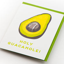 Card: Holy Guacamole