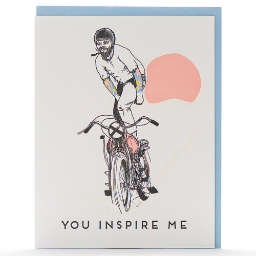 Card: You Inspire Me Throwback