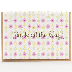 Card: Jingle All The Way Retro (A1 Size)