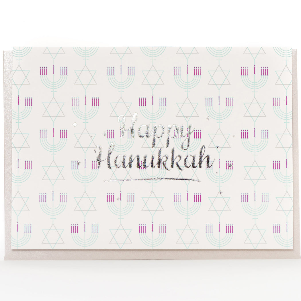 Card: Happy Hannukah Retro (A1 Size)