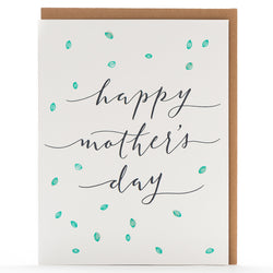 Card: Mother's Day Calligraphy