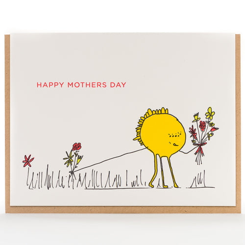 Card: Mother's Day Monster