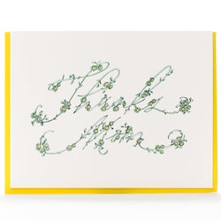Card: Thanks Mom Daisy Chain
