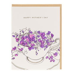 Card: Mom Teacup