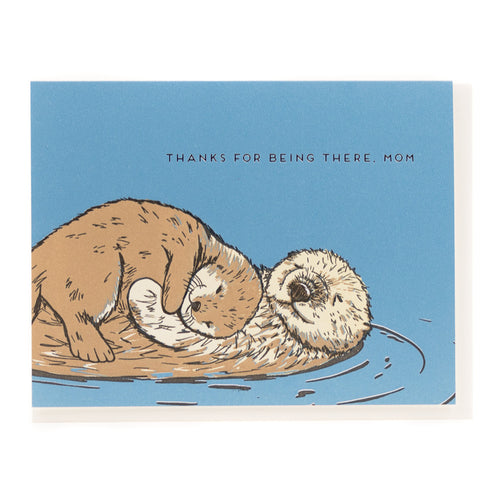 Card: Otter Mom