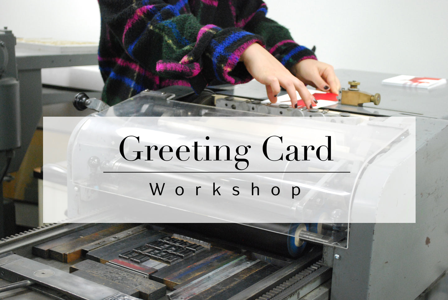 Greeting Card Workshop October 13th