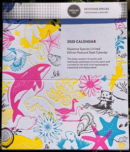 Calendar: 2021 Keystone Species