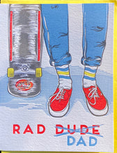 Card: Rad Dad Skater