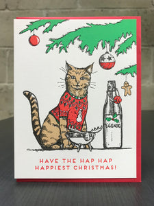 Card: Christmas Sweater Cat