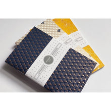 Notebook: Geometric Foil Pocket (Set of 3)