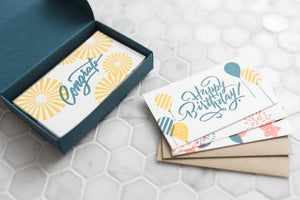 Calligraphy Mini Note Set
