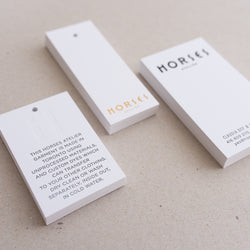 Porchlight Press Horses Atelier Letterpress Tag