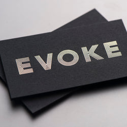Porchlight Press Evoke Letterpress Business Card