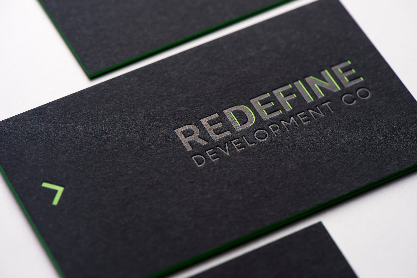 Porchlight Press Redefine Letterpress Business Card