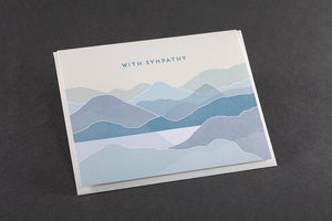 Card: With Sympathy Coastal