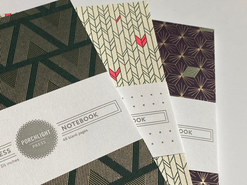 Notebook: Graphic Small (Set of 3)