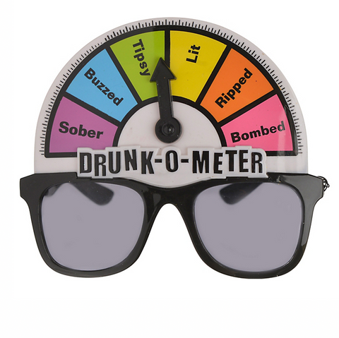 Drunk Meter Glasses - Clout Clan