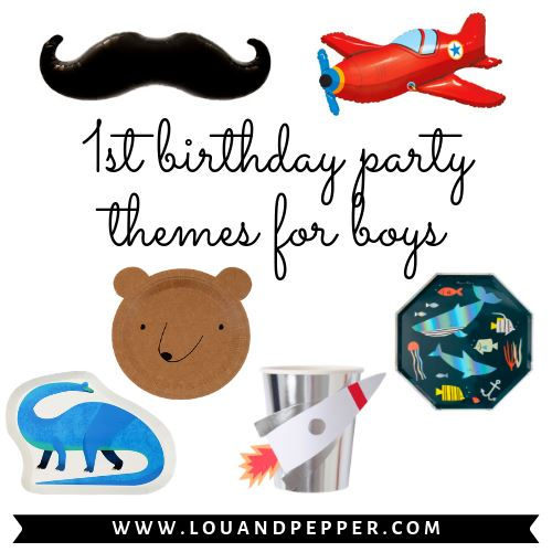 1st Birthday Party Supplies for Boy