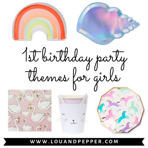 1st Birthday Party Supplies for Girl