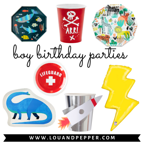 Boy Birthday Parties