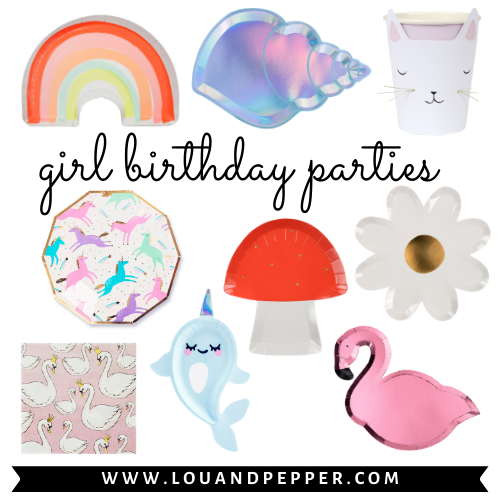 Girl Birthday Party Supplies