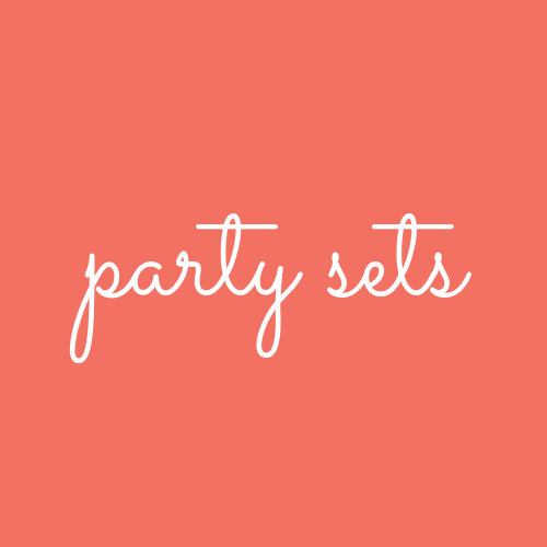Complete Party Supply Sets for 16 Guests
