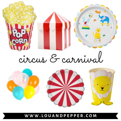 Circus & Carnival Party Supplies