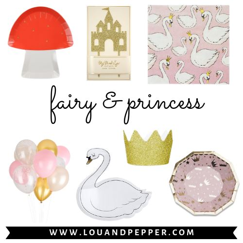 Fairy & Princess Party Supplies