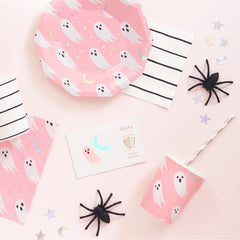 cute ghost halloween birthday party supplies