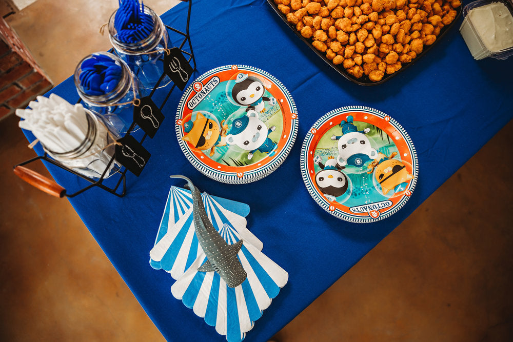 Octonauts paper plates and napkins