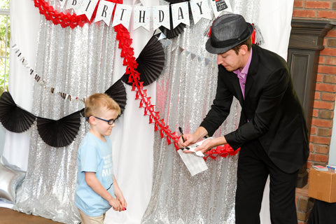 magic themed birthday party entertainment
