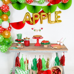 apple themed party fall birthday party supplies