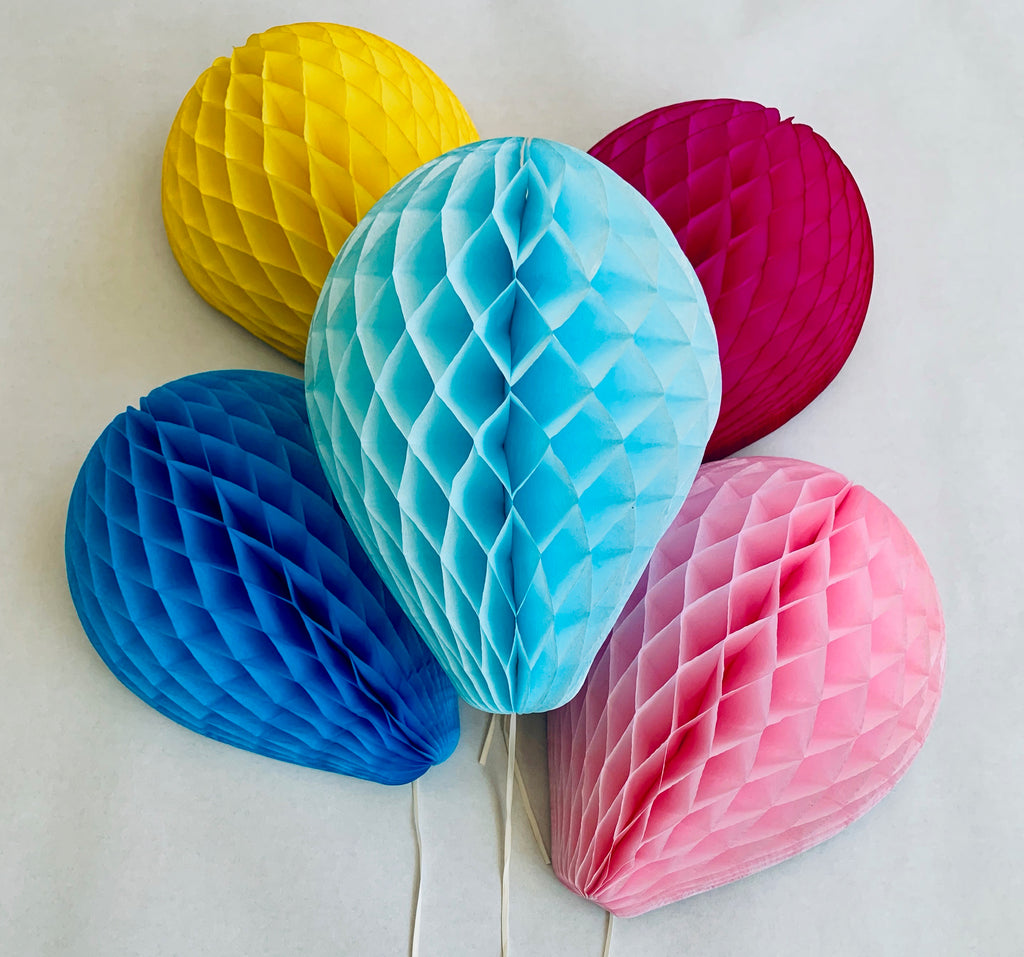 "Honeycomb Balloons 11"" - Hot Pink"
