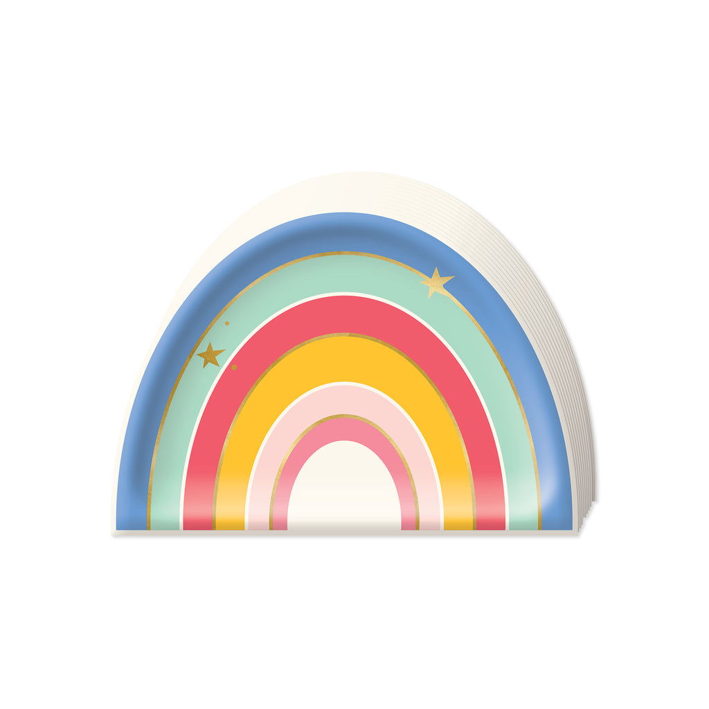 Magical Rainbow Plate