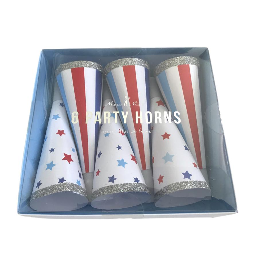 Americana Party Horns Decor Meri Meri