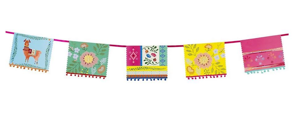 Boho Multi-color Pom Pom Garland Decor Talking Tables